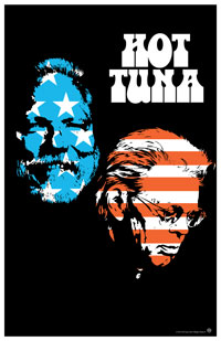 11x17 2015 Hot Tuna Tour Poster