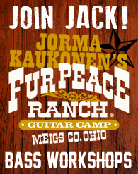 Jack Casady Workshops at Fur Peace Ranch