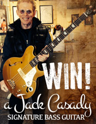 Win a Jack Casady Signature Bass